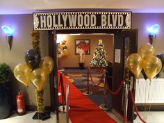Hollywood Theme Party Entrance