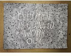 Beautiful post from artist Lisa Congdon about trust.