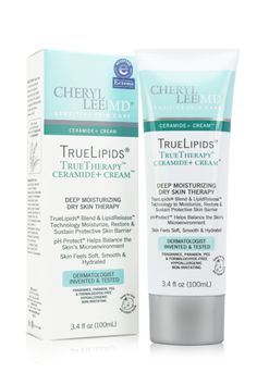 TrueLipids TrueTherapy Ceramide + Cream - Cheryl Lee MD Sensitive Skin Care - 1 #EczemaMoisturizer