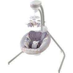 Fisher-Price Elephant Safari Cradle 'N Swing Multicolor Plug In Baby Swing, Baby Swing Set, Elephant Baby Rooms, Elephant Themed Nursery, Elephant Baby Swing, Elephant Stuff, Owl Nursery, Safari Nursery, Nursery Ideas