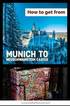 The fairytale castle, The Disney Castle, The Kings castle are just some of the names Neuschwanstein goes by. Munich is the nearset and easiest major city to visit Nueschwanstein from  Castles in Bavaria | castles in Germany | Munich day trip | Royal castle | bus to Neuschwanstein Castle | Train to Neuschwanstein Castle | car to Neuschwanstein Castle | travel | Munich attractions | things to see in Bavaria |  #Neuschwanstein # Munich # Bavaria #castle