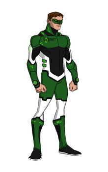 Green Lantern YJ Redesign by DivineComics on DeviantArt Green Lantern Movie, Green Lantern Hal Jordan, Green Lantern Corps, Green Lanterns, Comic Book Artists, Comic Book Characters, Comic Character, Character Design, Comic Books