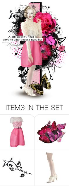 """Miss Monroe"" by frism ❤ liked on Polyvore featuring art, doll, dollmaker, dollcommunity and frism"