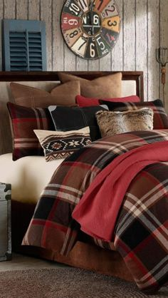 Rustic Grand Canyon Bedding Log Cabin Bedding, KING SET = $440 @ http://www.blackforestdecor.com/grand-canyon-bed-set-king.html