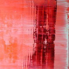 "Saatchi Art Artist Koen Lybaert; Painting, ""Red tape [Abstract N° 1729]"" #art"