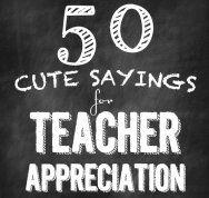 50 Teacher Appreciation Gifts