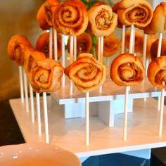 Cinnamon rolls on a stick!