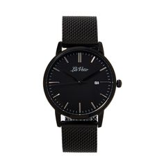 Our is an ultra slim design that boasts elegance and sophistication. This classic timepiece is simple yet stylish making Mesh Band, Black Mesh, Daniel Wellington, Watches, Stylish, Leather, Accessories, Fashion, Moda