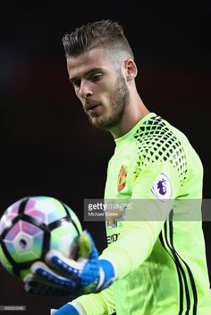 David De Gea of Manchester United during the Premier League match between Manchester United and Southampton at Old Trafford on August 19, 2016 in Manchester, England.