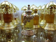 Perfume Bottle - made in Dubai - photo by an urban explorer