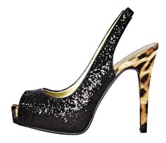 go on, give in to your instincts -- animal print heel. Wow sparkle and animal meet @jcpenney!