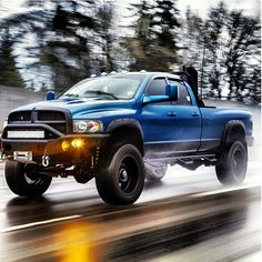 Don't like the color, but LOVE the truck....Dodge Ram.