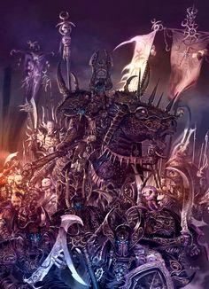 Champions of Slaanesh by MajesticChicken.deviantart.com on @deviantART