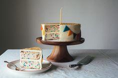 How to Make a Funfetti Cake from Scratch