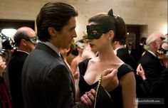 The Dark Knight Rises (2012) Christian Bale and Anne Hathaway