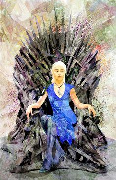 Game of Thrones - Daenerys Targaryen by Sean Anderson *