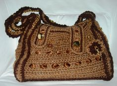 Borsa in lana modello classico