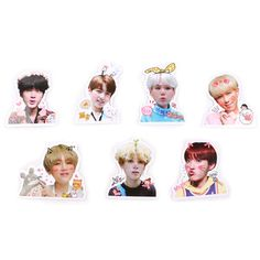 Diy Stickers, Printable Stickers, Funny Stickers, Laptop Stickers, Jungkook V, Bts Bangtan Boy, Bts Chibi, Overlays, Kpop Diy