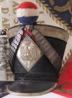 shako from an officer of the national guard.