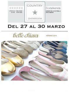 Belle Chiara en COUNTRY SHOWROOM