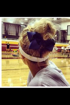 My volleyball hair