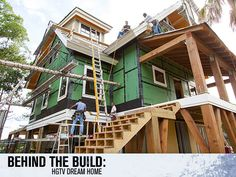 "Tune in!  ""Behind the Build: HGTV Dream Home 2013"" premieres Thursday, Dec. 27 at 10 p.m. EST on DIY Network. >> www.diynetwork.com/behind-the-build-hgtv-dream-home/show/index.html?soc=dhpp"
