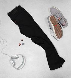 Sorte Jeans @ Levi's #Fisketorvet #CopenhagenMall #mensfashion #jeans