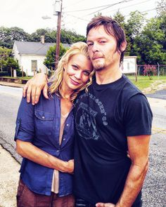Daryl Dixon and Andrea