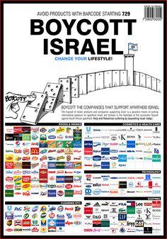 Como hacemos para no comprar o tener al menos uno de estos productos? Estan presentes en todo lugar, son los simbolos de la dominacion sionista en el mundo.....como hacemos para identificar y tener a todos en la mente? Recomiendo empezar por al menos no comprar uno......y asi poco a poco se dan cuenta que ya no colaboran con mantener a este Estado Terrorista de los auto llamados hijos de Dios....