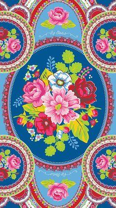 textile - Pip Studio - flower design