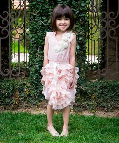 Look at this Trish Scully Child Pink Lady Grace Dress - Girls on #zulily today!