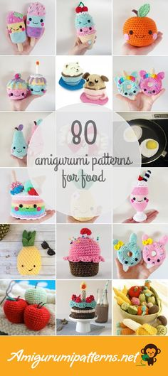 Amigurumi Patterns For Food