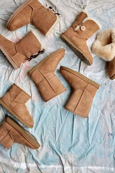We admit it: we're slightly obsessed with chestnut #UGG