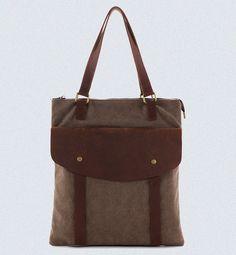Leder Canvas Tote Bag / Messenger Bag / Crossbody-Bag / Canvas Tasche / Laptop Tasche / Windel-Tasche / Shopper Tasche 390
