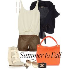 A fashion look from August 2013 featuring Nina Ricci cardigans, Elizabeth and James tops and Alice + Olivia shorts. Browse and shop related looks.
