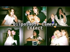 Disposable Camera Effect - Lightroom Mobile Presets Free DNG Gopro Photography, Photography Filters, Photography Editing, Portrait Photography, Wedding Photography, Foto Flash, Disposable Film Camera, Photo Polaroid, Aesthetic Filter