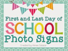 first day of school sign template.html