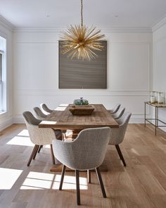 71 modern minimalist dining room design ideas for comfortable dinner 36 Dining Room Table Decor, Elegant Dining Room, Beautiful Dining Rooms, Dining Room Sets, Dining Room Design, Room Decor, Dining Tables, Design Table, Patio Dining