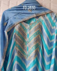 Pakistani Dresses, Indian Dresses, Kurtha Designs, Casual Indian Fashion, Long Anarkali, Makeup And Beauty Blog, Stitch Shirt, Kurta Designs Women, Silk Suit