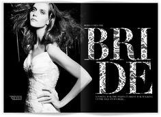 Beautiful Editorial Design By Julie Katrine Andersen | Oculoid | Art & Design Inspiration