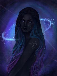 New Digital Art Girl Black Hair Blue Eyes Ideas - Party Dress { wedding } - Perfect Hair Ideas Black Girl Art, Black Art, Black Girls, Pretty Art, Cute Art, Character Inspiration, Character Art, Character Aesthetic, Digital Art Girl