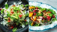 Fire lette og mettende grønnsaksmiddager