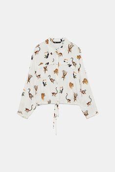 High Neck Top, Pli, Pin Tucks, Couture, Crop Shirt, Zara Women, High Collar, Zara Tops, Mannequin