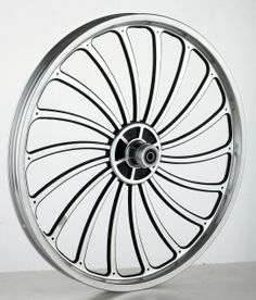 93237f9dbeb6 16 20 24 bicycle one piece aluminum alloy wheel wire whole felly rim herd  round US  19.61