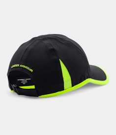 black and yellow under armour hat