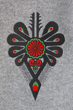 f Polish Symbols, Zakopane Poland, Folk Print, Polish Folk Art, Future Tattoos, Embroidery Applique, Textile Art, Needlepoint, Tatting