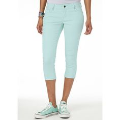 Taylor Super Skinny Color Crop Sea Breeze ($35)