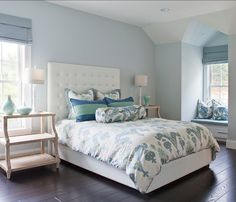 Bedroom Interior Designs (1076)   http://www.snowbedding.com/