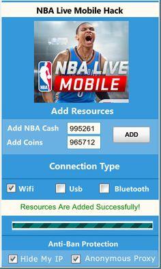 NBA Live Mobile Hack Generador en línea