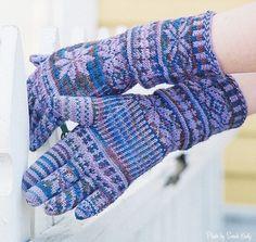 Karendipity--Karen Neal--Hand Painted Gloves